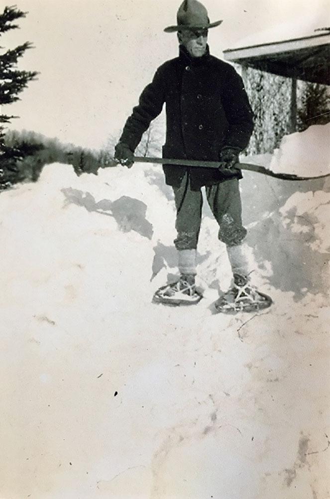 Val-David années 40 Parc régional Val-David Val-Morin La Sapinière